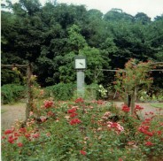 1967 Rose Garden Clock, David Livingstone Centre, by RDS