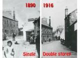 1890 / 1916 Barnhill Tavern Comparison