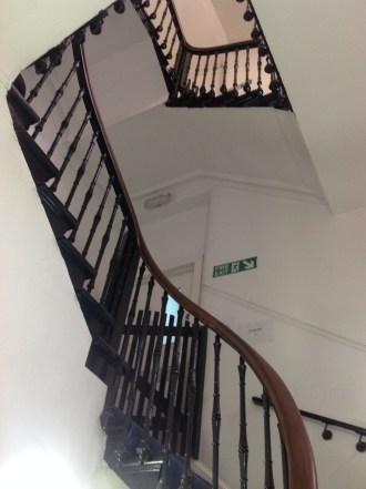 2014 Calderglen House. Servants Staircase (PV)