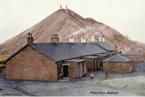 Priory Row next to the Colliery