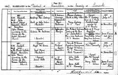 1900 Marriage of Victoria Cochrane