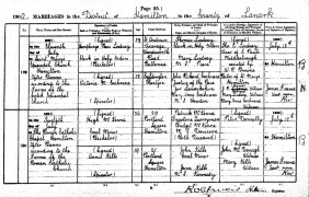 1900 Marriage of Victoria Cochrane
