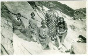 1931 Duncan Family at Beach