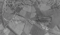 1945 Dixon's High Blantyre pits aerial view