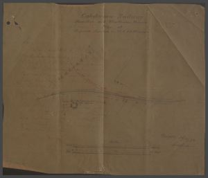 1874 Mineral Line plans to Larkfield Pit 4