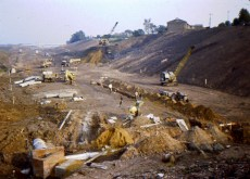 1967 Construction of the M74 shared by A Hastings