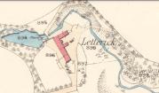 1859 Letterick Farm Map