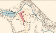 1859 Letterick Farm Map