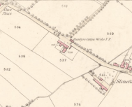 1859 Map of Glasgow Road