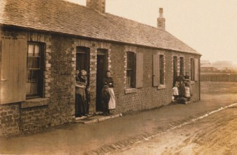 Late 1920s Park Street (not Hall St!), Dixons Rows, Blantyre, restored by A Rochead