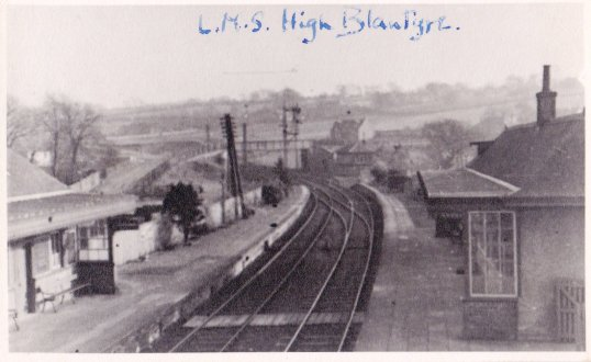 1930s High Blantyre Station L.M.S.