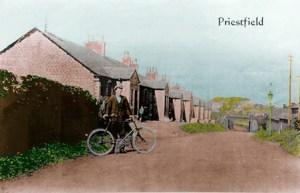 1930s Priestfield Terrace Postcard