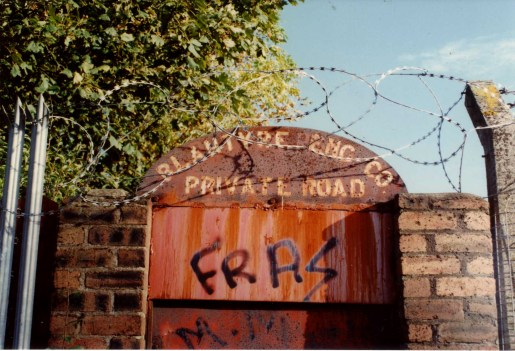 1995 Blantyre Engineering Company Entrance at John Street by RDS
