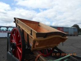 2014 James Marshall's cart restored. Shard by J Cochrane