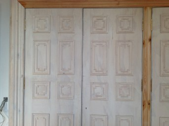 2014 Dec Door renovation at Crossbasket Castle, Blantyre (PV)