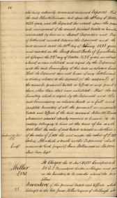James Millars Inventory 1838 Part 5 of 5