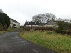 2015 Auchentibber Farm Entrance (PV) Jan.