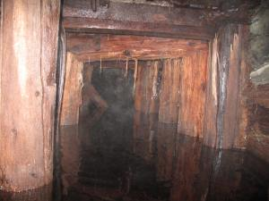 A Flooded mine similar conditions the rescuers would have faced.