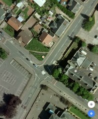 2010 Google Earth maps showing Victoria Street