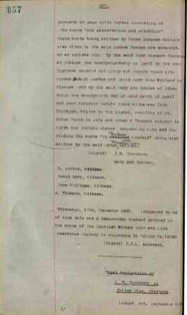 1921 J.R Cochrane's Will Page 27 of 36