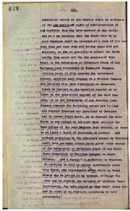 1921 J.R Cochrane's Will Page 9 of 36