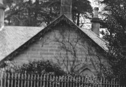 1905 Greenhall Lodge House. Close up