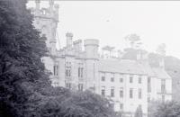 1910 Calderwood Castle being repaired (PV)