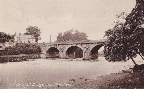 1936 Bothwell Bridge from Blantyre (PV)