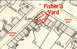 Fisher's Blacksmith Yard corner of Stonefield Road