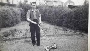 1950s Archie Gardner at Auchinraith Terrace, Shared by N Scott