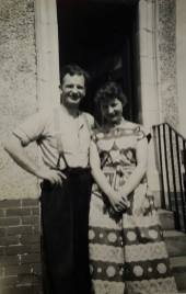 1960s Archie Gardner with daughter Christine