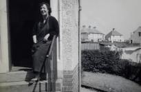 1959 Maise Gardner at Auchinraith Terrace
