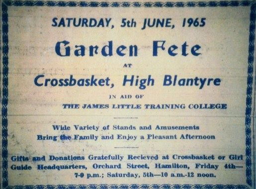 1965 Crossbasket opening of James Little College