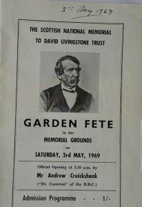 1969 3rd May Garden Fete
