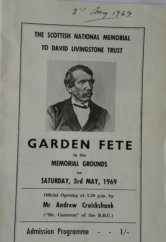1969 3rd May Garden Fete. From Neil Scott