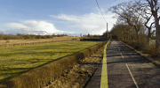 2014 Miners Homes site Auchentibber, Sydes Brae