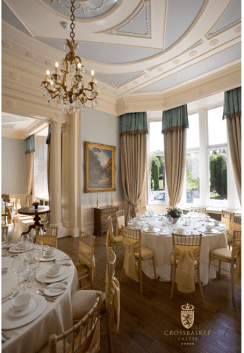 2015 Dining room, Crossbasket Castle, blantyre
