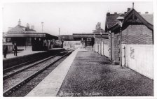 1911 Low Blantyre Station