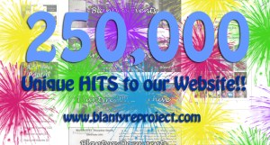 Blantyre Project reached Quarter of Million hits!