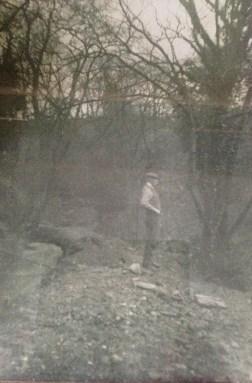1920s Thomas Stratton owner of Mavis Mill at the Mavis Mill lade