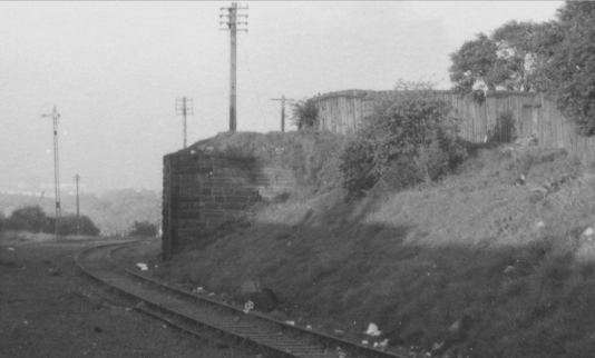 1960s Auchinraith Junction, near Springwells Crescent