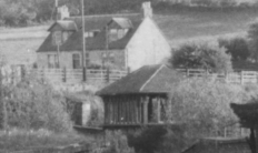 1961 High Blantyre Train Station in May. Photo E Towley
