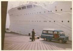 1967 Waiting for Bedford to get loaded to Australia.