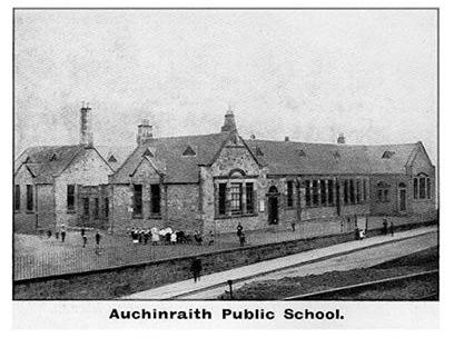 Auchinraith Primary School, Blantyre, 1910
