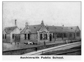 Auchinraith Primary School, Blantyre, 1910. Shared by A Morrow