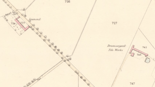 1859 Map of Loanend