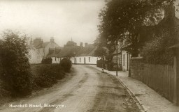 Late 1920s Hunthill Road, shared from G Cooks collection