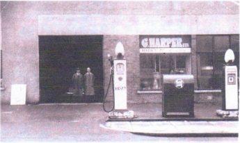 1950s Harpers Garage, Glasgow Road, Blantyre