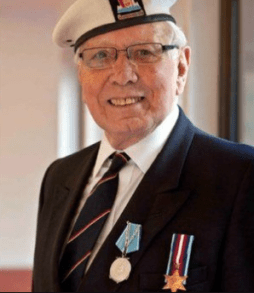 2015 David Dunsmuir, 89 year old veteran of WW2