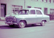 1950s Ford Car outside 13 Cowan Wilson Avenue. Shared by J Graham